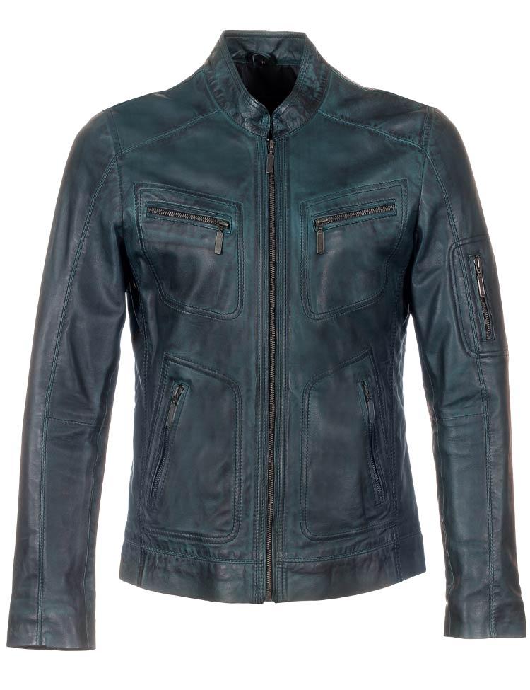 leather-men's-jackets-blue-versano-tr36-front