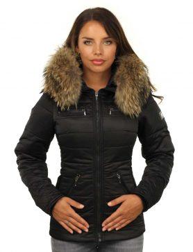 Dames-winterjas-zwart-met-rits-versano