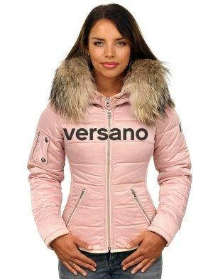 Winter coat with fur collar Rose Shamila