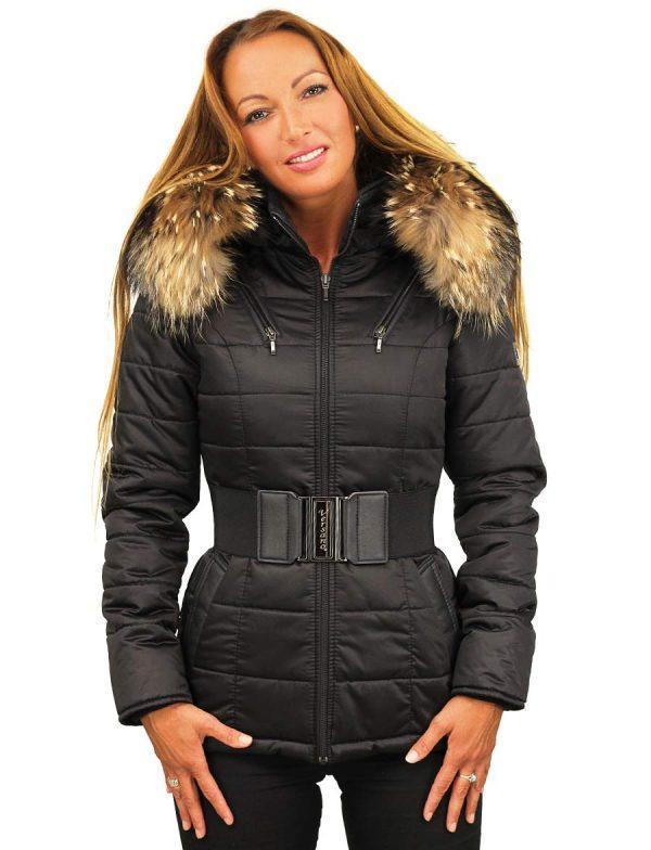 d671326cfc3 maison boutique dames manteaux de femmes avec col de fourrure