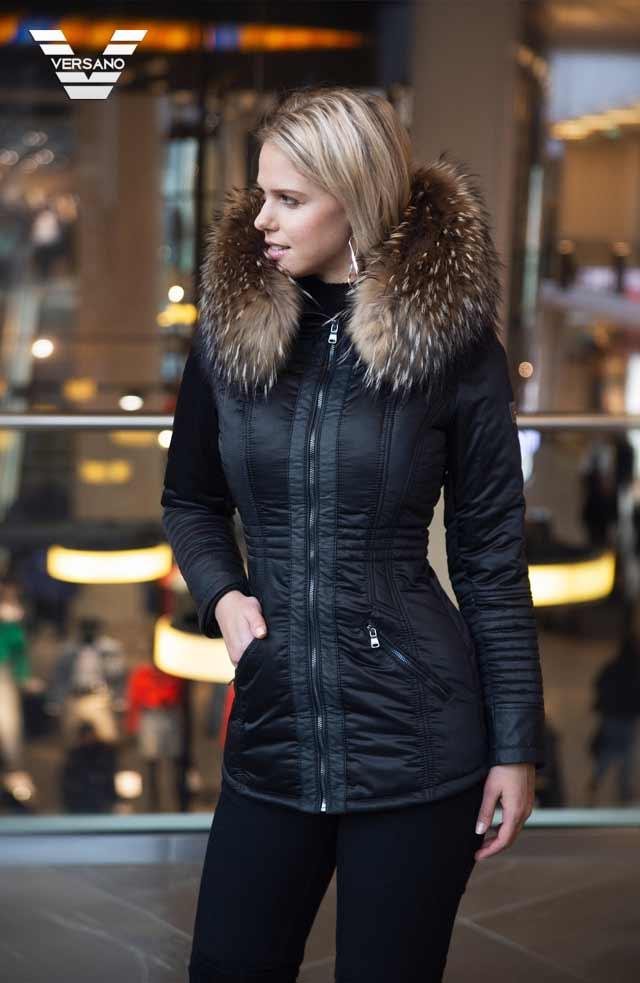 winterjassen met bontkraag voor dames, winterjassen met