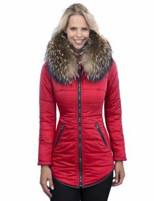 dames-winterjas-met-bontkraag-halflang-rood-versano-genny-voorkant