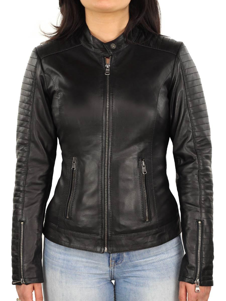 echt-lederen-dames-jas-in-biker-look-zwart-versano-341-voorkant