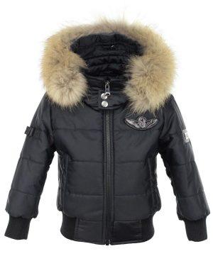 jongens-kinder-winterjas-met-bontkraag-zwart-cobra-versano-voorkant.jpg