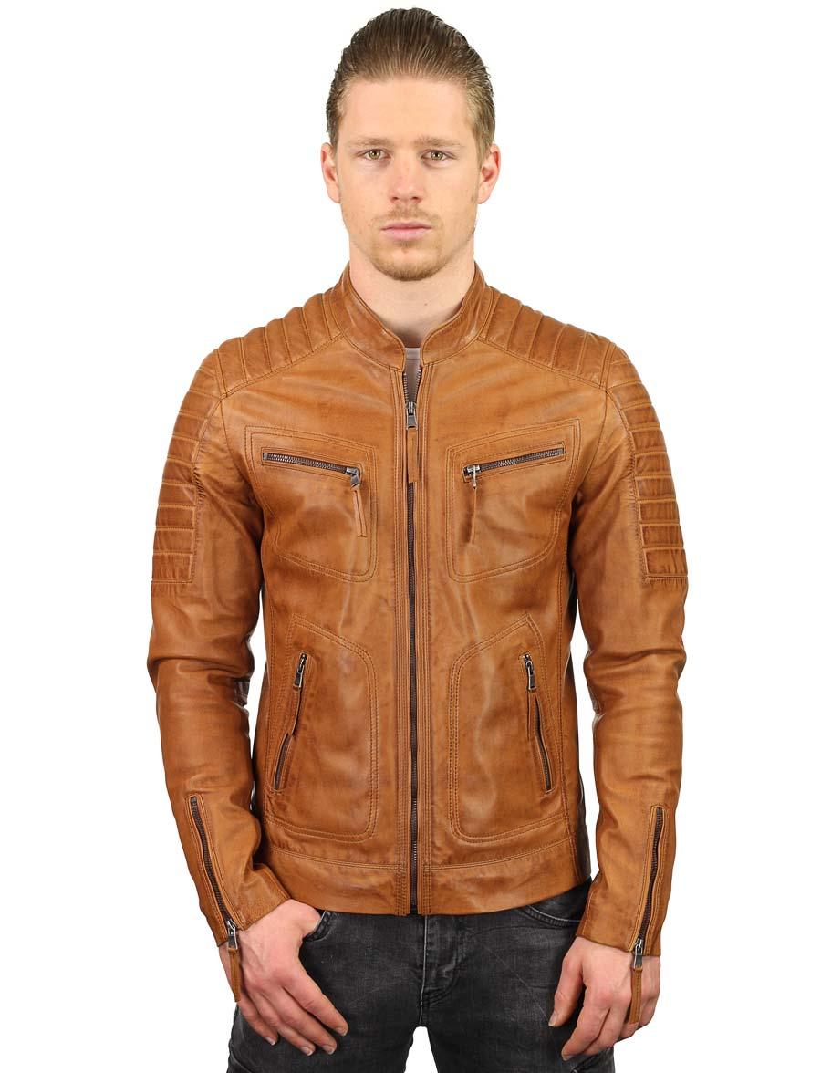 leren-jassen-heren-cognac-biker-model-TR36B-versano