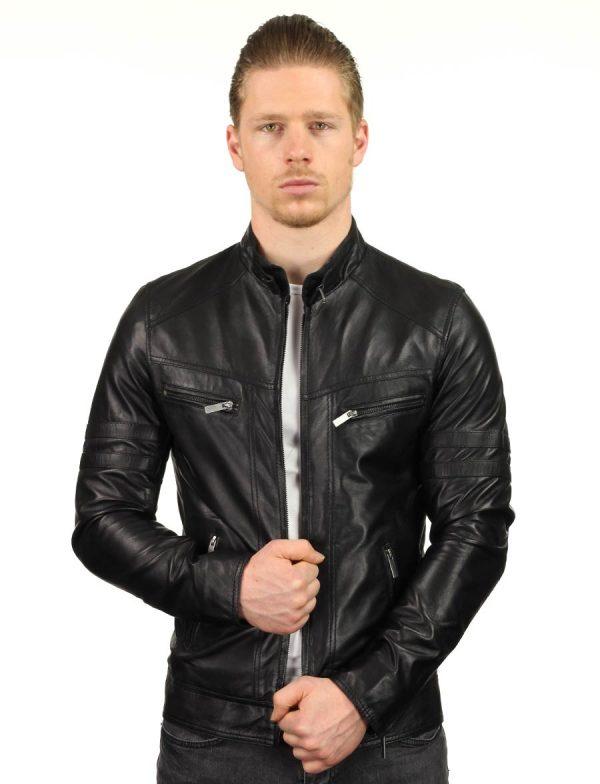 zwarte-leren-heren-jas-versano-tr43-model