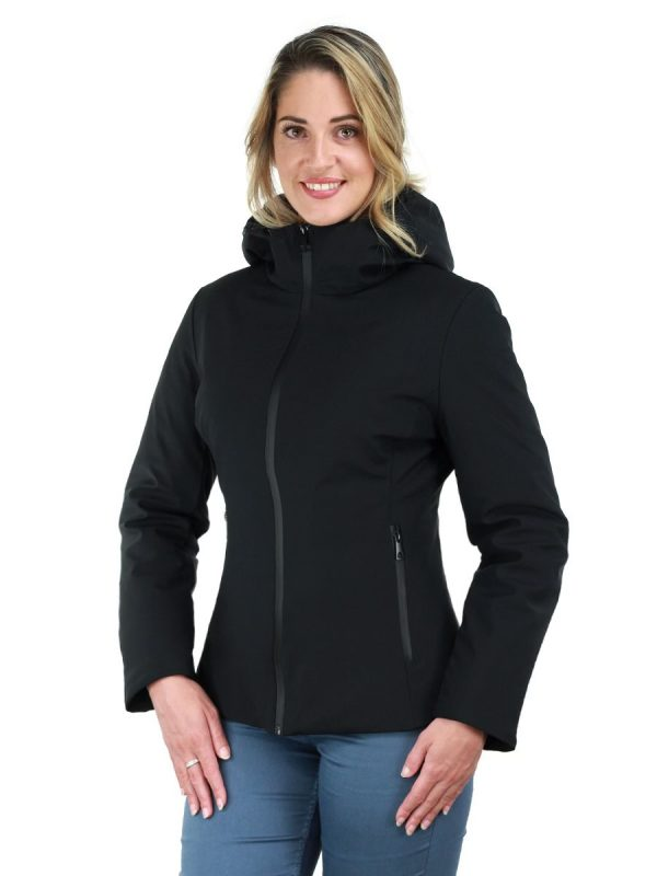 korte-winterjas-dames-zwart