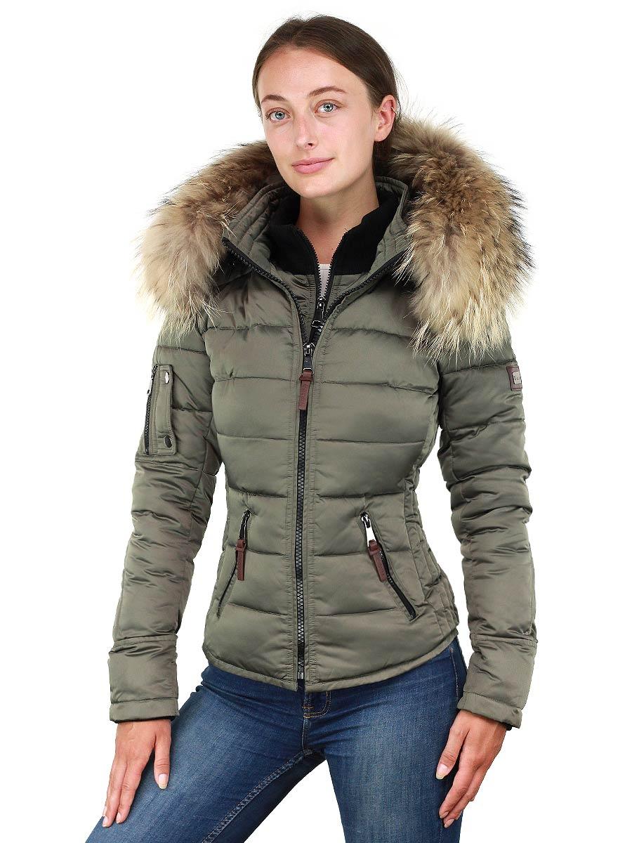 Dames winterjas Shamila new generation Versano groen