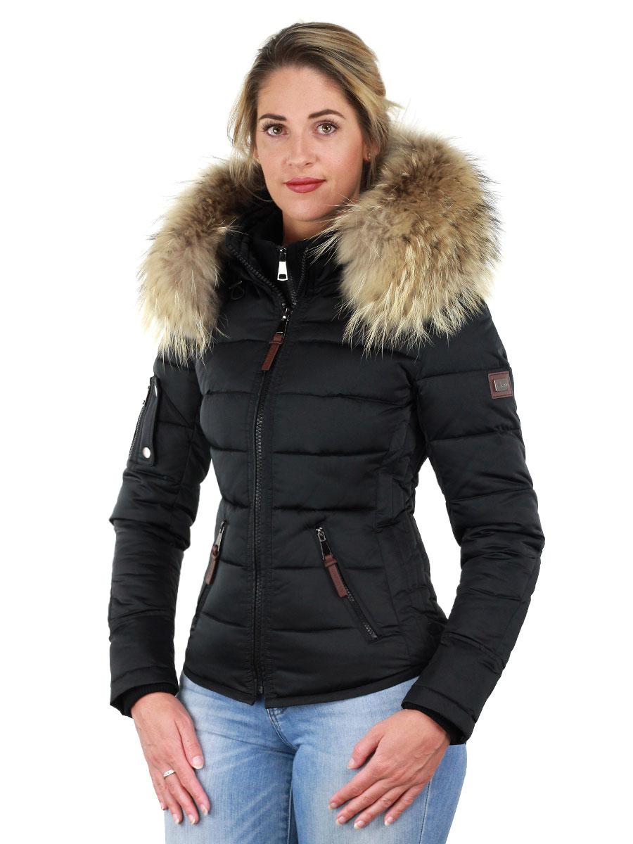 Winterjas dames Shamila new generation Versano zwart